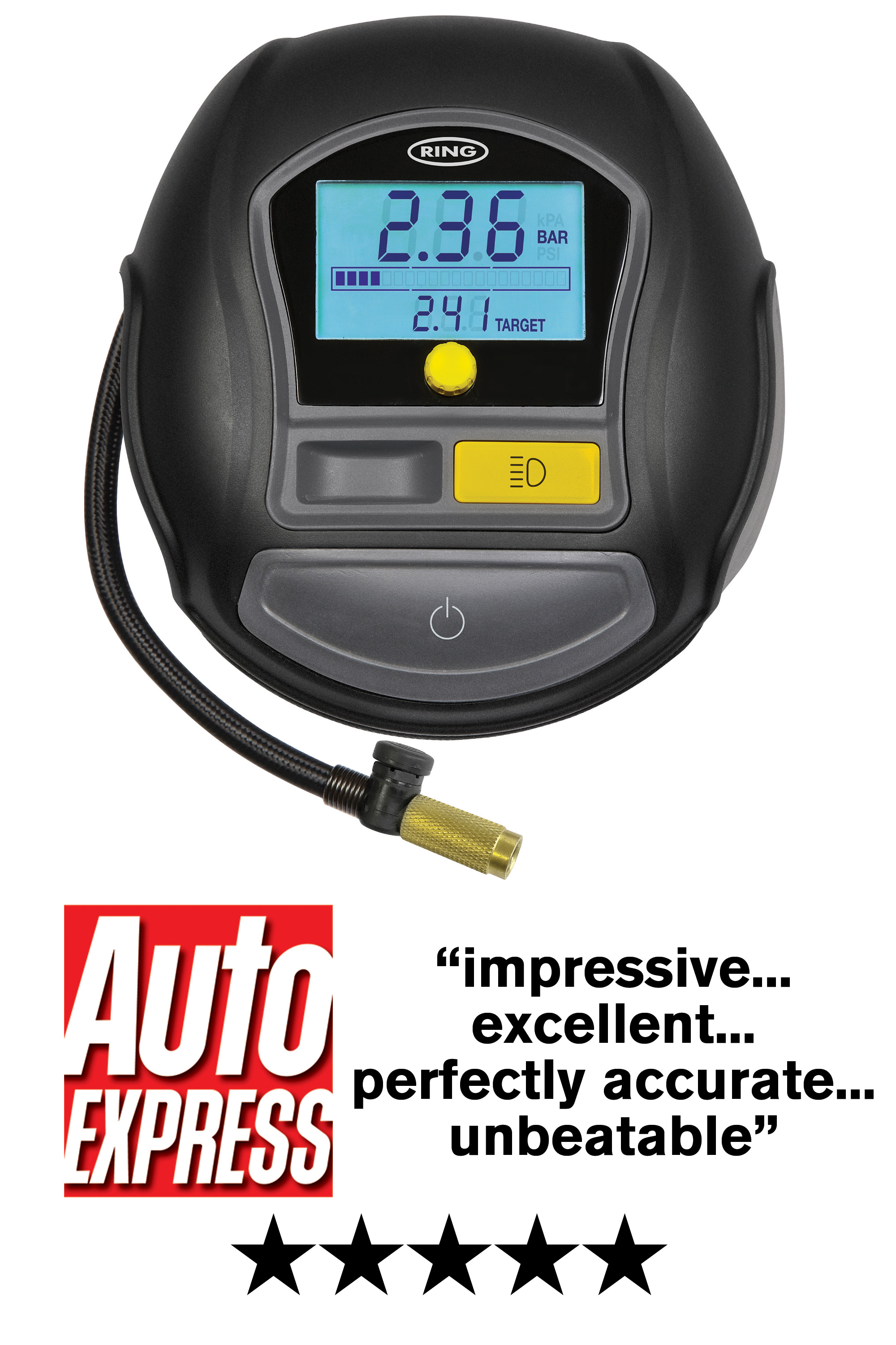 Ring RTC1000 Digital Tyre Inflator