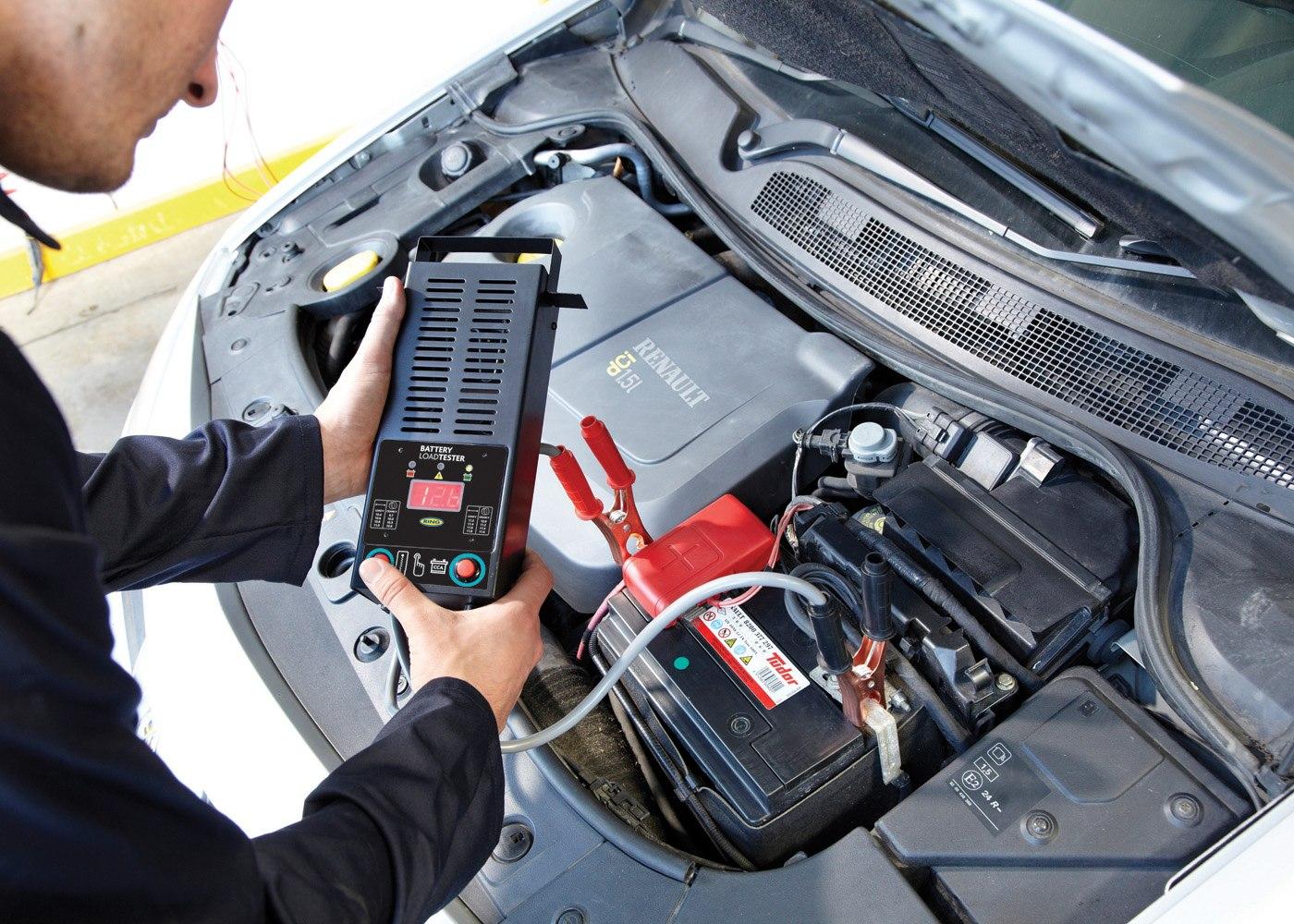 12V Digital Battery Load Tester | RBA15 | Ring