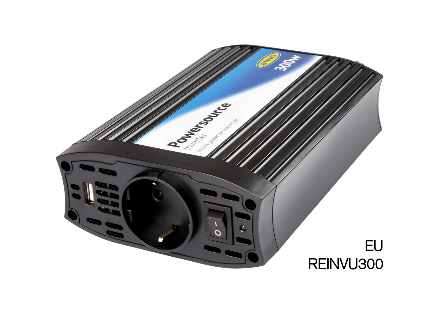 12V Power Pack with 2.1A USB and 300W