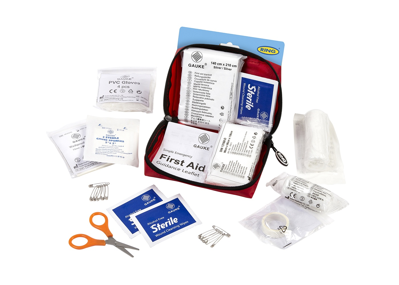 Emergency Essentials | Mini First Aid Kit | RCT12 | Ring