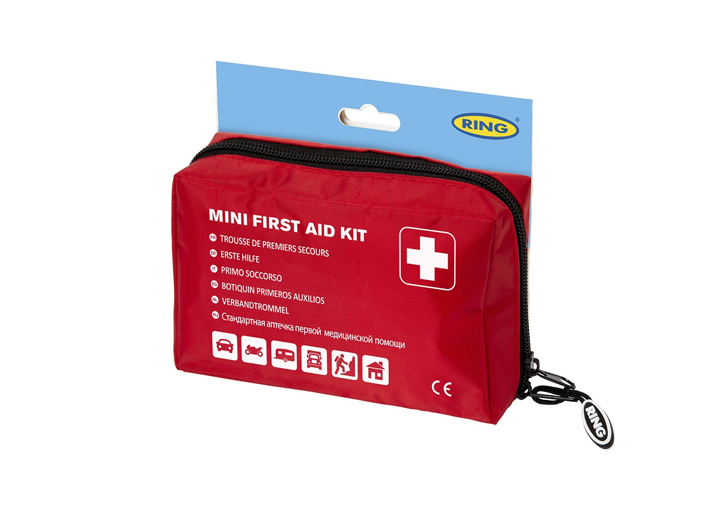 Emergency Essentials | Mini First Aid Kit | RCT12 | Ring
